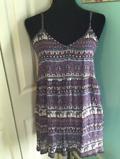 NWT ANGIE romper shorts  Large navy strappy guaze CUTE best offer