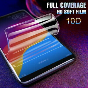 Clear Soft Screen Protector Hydrogel film For Huawei P40 Pro P20 Mate 20 Lite
