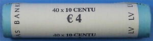 10 cent Rolle Lettland 2014
