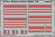 EDUARD 1/48 AIRCRAFT- REMOVE BEFORE FLIGHT UK (PAINTED) | 49051