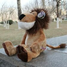 25CM Lovely brown hair lionStuffed ANIMALS plush dolls kids TOY NEW