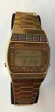 Vintage Rare Seiko A239-5000 World Timer Alarm Rare Golden Seiko rare watch