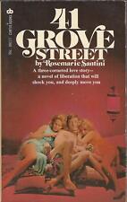 Curtis Books Paperback  09177 41 Grove Street by Rosemarie Santini Vintage Rare