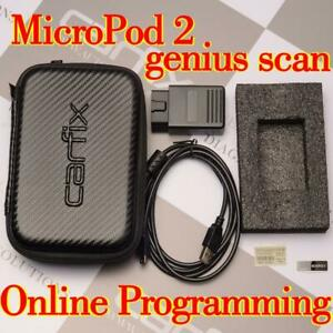MicroPod II Diagnostic Scanner Online Programming For Chrysler FCA Wi 17.04.27