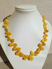 18,4 grams Beatiful Genuine Baltic Amber Necklace Butterscotch