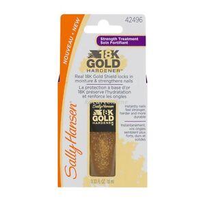 Sally Hansen 18K Gold Hardener Nail Hardener strength 10ml  Z42496