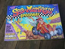Amazing Live Sea-Monkeys Speedway Racing Game Sea-Monkeys Play With People NEW!