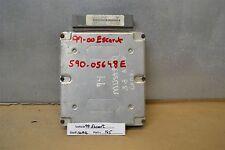1999-2000 Ford Escort Engine Control Unit ECU XS4F12A650DC Module 45 10A6