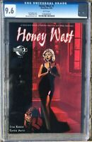 HONEY WEST #1 (2010) Moonstone 1A Cover CGC 9.6 HIGHEST GRADED