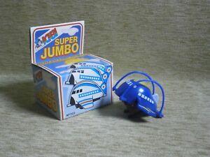 """ SUPER JUMBO "" NIB KIBI BASILEIADIS MADE IN GREECE VTG GREEK WIND UP 80s"