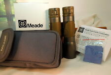 Meade 10x32 Mini Folding Camo Binocular Travelview Carry Case New in Box 32mm