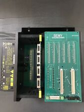 New listing Semy Engineering Myp Bac Card Cage with 7 Boards And Myp 820800A, Used