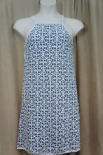 "Studio M Dress Sz M Off White Blue Combo Lace ""Geraldine"" Casual dress"