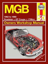4894 Haynes MGB 1962 to 1980 Workshop Manual