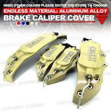 Aluminum alloy 4pcs Gold 3D ENDLESS Style Universal Brake Caliper Cover L+S WL03