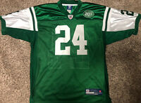 New York Jets Darrelle Revis #24 Reebok On Field NFL Stitched Jersey Sz 50