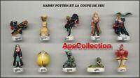Harry Potter Y El Cáliz Por Fuego Raro Set 10 Mini Figuras 3cm Porcelana FEVES