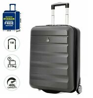 Aerolite Ryanair Max Allowance Hard Shell Lightweight Suitcase Cabin Luggage Bag