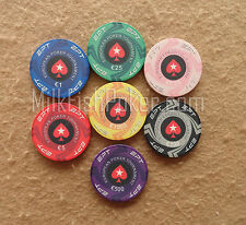 Neue Cash Game 500 EPT Keramik Poker Chips