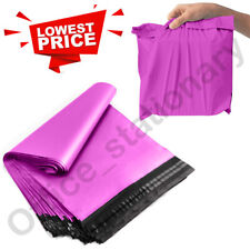 More details for pink postal mailing bags postage coloured plastic packaging parcel shipping bags