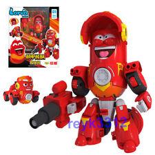 Fun Larva Robot Transformation Car Toy Action Figure Red Birthday Gift 2020