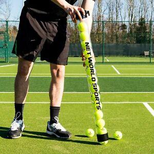 Tennis Ball Pick Up Tube - 15 Ball Capacity - Transparent PVC Ball Collector