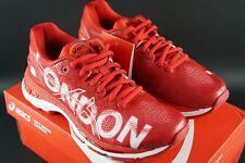 Asics Gel-Nimbus Londres 2018 Rojo Zapatos De Entrenamiento Paquete Size UK 3.5 EU 36