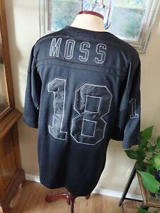 Mitchell & Ness Throwbacks Randy Moss Oakland Raiders Jersey #18 Sz 54 Exclusive