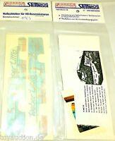 Weber Littig Nassschieber Busbeschriftung Neoplan S 215 HD MB O303 H0 1:87 å