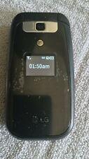 LG B470 -Black- (Unlocked) Flip Phone -