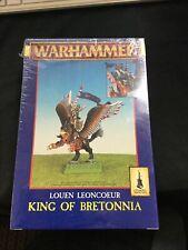 Warhammer Fantasy Louen Leoncoeur King of Bretonnia (Sealed, OOP)