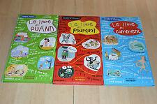 lot 3 livres illustrés : des quand, des pourquoi, des comment / De la Martinière
