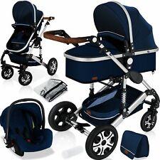 KESSER® Loops 3 in 1 Kombi-Kinderwagen Buggy Reisebuggy inkl. Auto- Babyschale