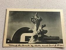 """New York World's Fair 1940 Sculptures  """"Riders of the Elements"""" by Chester Beach"""