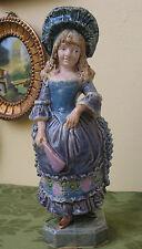 Antique Urbach Brothers Majolica Figurine Austrian