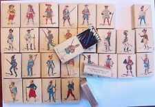 Colección Cajas de cerillas vacias Fosforera Española serie uniformes militares