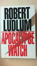 "Robert Ludlum ""APOCALYPSE WATCH"" HBDJ 1995 BK1"