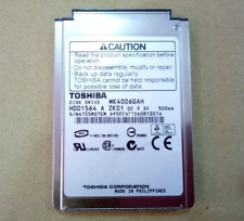 "1.8"" Toshiba MK4006GAH CF 40GB Hard DISK Drive For Apple iPod 4th Gen Photo"