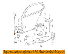 GM OEM Lock -Rear Door-Upper Hinge Pin 20262500