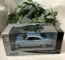 1965 Chevy Impala SS 396, 1:26 Die-Cast Metal w/Plastic Parts, Welly NIB