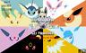 Pokemon Sword and Shield Shiny Eevee Evolutions 6IV EV Legit Instant Delivery