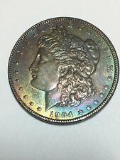 1904 Morgan Dollar!  Beautifully Toned!