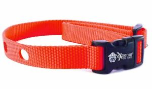 Replacement Collar Strap for Electric Dog Fence and Receivers - Neon Orange