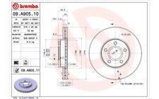 2x BREMBO Discos de freno delanteros Ventilado 278mm 09.A905.10