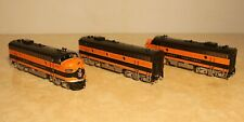 Challenger Imports item 2377.1 HO brass Great Northern EMD F7 ABA set  Fac Ptd