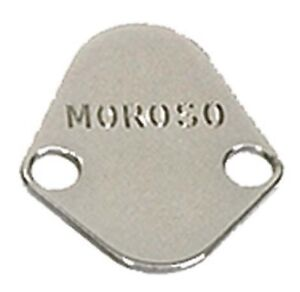 Moroso For Chrysler 273 / 440 / BB Chevy / Ford Steel Fuel Pump Plate - 65394