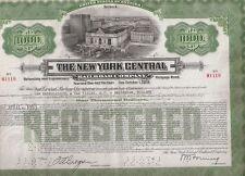 THE NEW YORK CENTRAL RAILROAD COMPANY....1921 MORTGAGE BOND