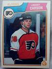 1983-84 OPC o-pee-chee Hockey Lindsay Carson #259 Flyers lot of 2