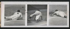 "1954 Orig Baseball Press Photo - The ""Hot Corner"" (Andy Carey)"