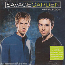 SAVAGE GARDEN - Affirmation (UK 12 Track CD Album)